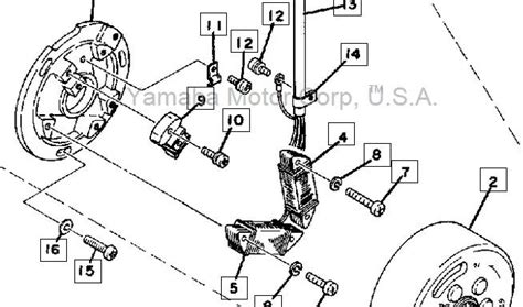 1978 yamaha dt 400 wiring diagram get free image about