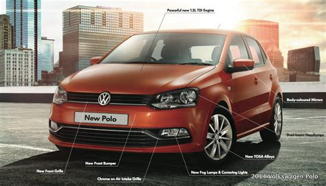 new 2014 volkswagen polo variants features specifications