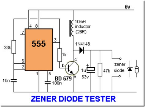 diode tester schematic cool electronics circuits february 2011