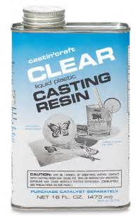 Castin craft clear poly casting resin with catalyst 16 oz create