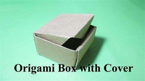 Origami Box With Lid Printable - origami box with lid