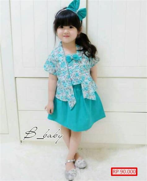 Baju Pesta Anak Refanes 20 model gaun kebaya anak imut lucu dan modern model baru