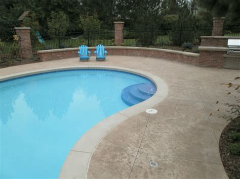 decorative concrete pool decks front range decorative concrete