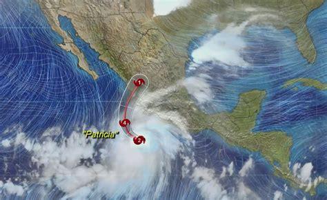 imagenes satelitales del huracán patricia quot patricia quot se convierte en hurac 225 n categor 237 a 4 el universal