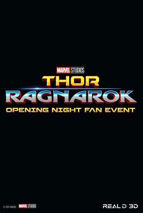 thor ragnarok fan event thor ragnarok opening fan event at an amc theatre