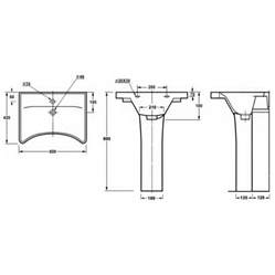 height of pedestal sink ergonomic concave wash basin height pedestal