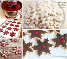 wonderful diy christmas snowflake cookies