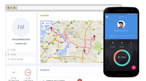 can you track an android employee tracking android app clockit