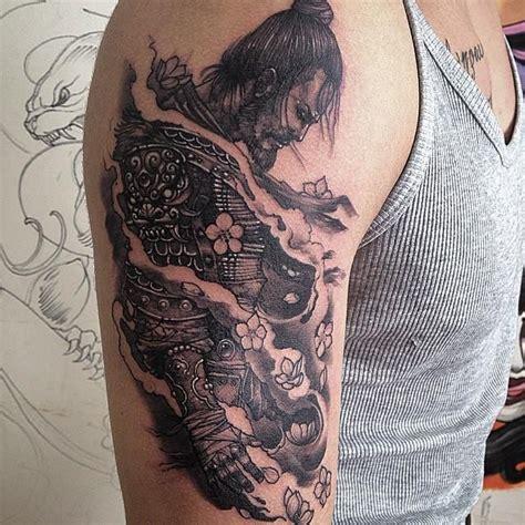 tattoo oriental no braço 25 melhores ideias de tatuagem samurai no pinterest