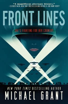 grant books bookfoolery front lines by michael grant