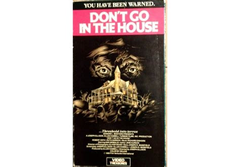 don t go in the house don t go in the house 1979 on video treasures united states of america vhs videotape