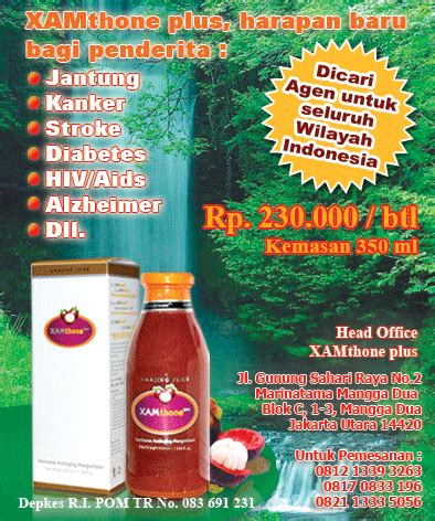 Xamthone Plus Di Jmin Asli Juice Kulit Manggis jus kulit manggis xamthone plus ajaib