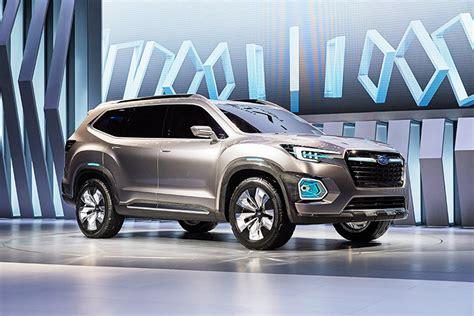 subaru viziv truck 2016 la auto subaru viziv 7 crossover concept