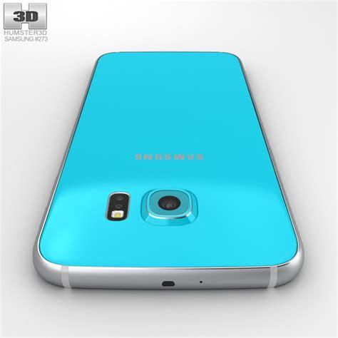 Samsung S6 Blue Topaz Samsung Galaxy S6 Blue Topaz 3d Model Humster3d