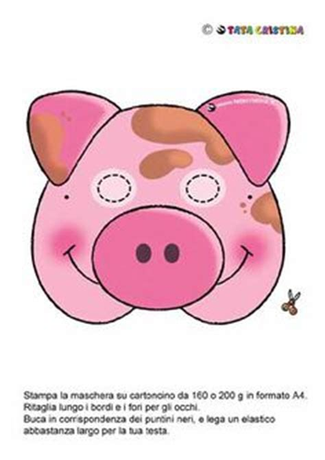 printable pig mask three little pigs storytelling props more pig mask and