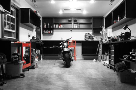 Hgtv Home Design Ideas by Dream Motorcycle Garages Park Your Ride In Style At Night