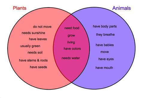 comparing plant and animal cells venn diagram plant and animal cell comparison cliparts co
