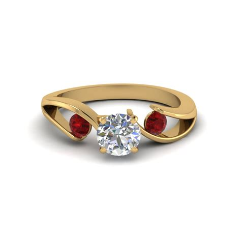 ruby engagement rings get great deals on three ruby engagement rings