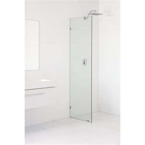 bathroom wall panels bunnings highgrove 10 x 2000 x 1175mm frameless glass shower panel kit