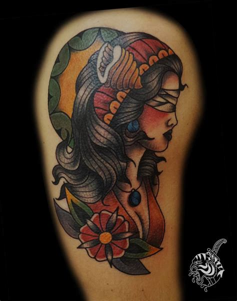 tattoo old school gufo significato dea bendata tatuaggio traditional gt fabio perego tattooing
