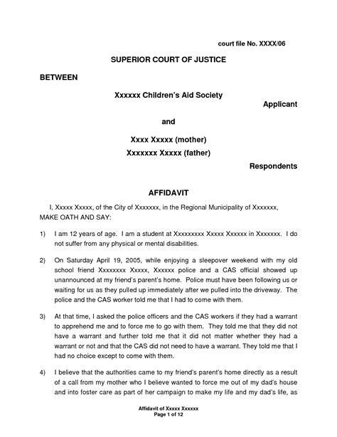 green card affidavit template i 751 affidavit letter sle balolymyku sworn