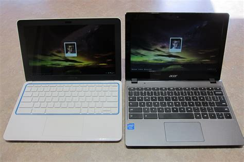 Hp Acer V gigaom battle of the sub 300 laptops hp chromebook 11 vs acer chromebook c720