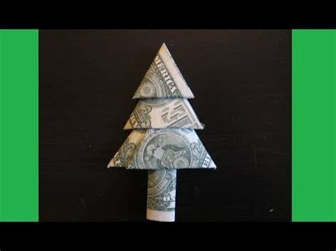 fold dollar into christmas tree 1000 images about money origami on dollar bills money