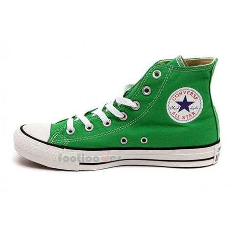 green converse sneakers converse all ct hi classic 142369c mens womens jungle