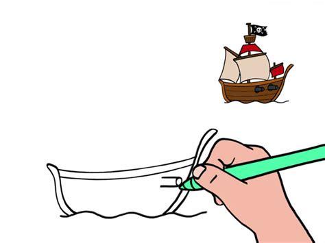 dessin facile bateau pirate apprendre 224 dessiner un bateau de pirate en 3 233 tapes