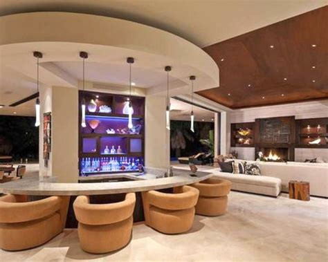 17 Sleek Modern Home Bar Counter Designs Home Entertainment Center Design Ideas