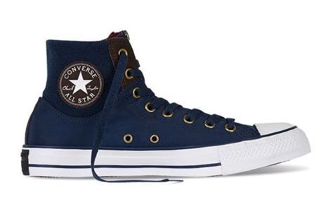 new converse chuck all ma 1 zip navy umber hi shoes 150274c