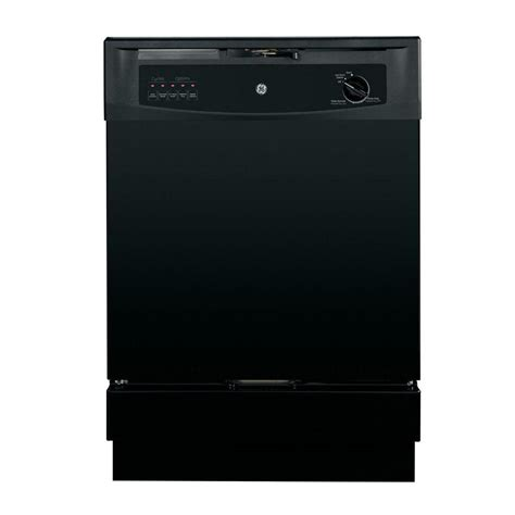 ge profile 18 in top built in dishwasher in black