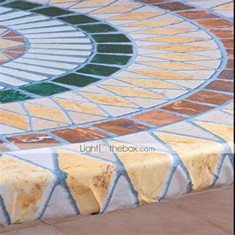 fitted mosaic table cover mosaic tuscan tile design table