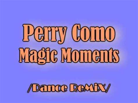 perry como magic moments (dance remix) youtube