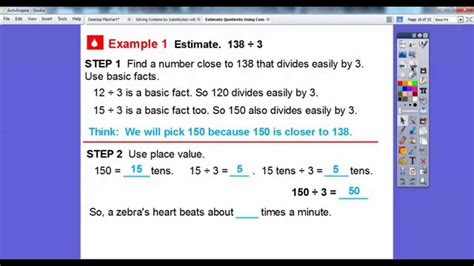 Estimating Quotients Using Compatible Numbers Worksheet by Estimate Quotients Using Compatible Numbers Lesson 4 5