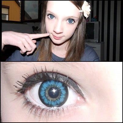 geo super size angel blue xcm 212 blue contact lens