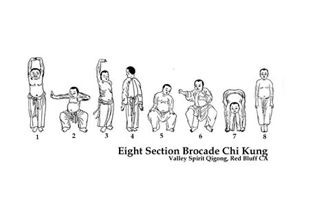Eight Section Brocade cloud eight section brocade chi kung