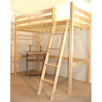 short loft beds short loft bunk bed with desk 2ft 6 small single wooden