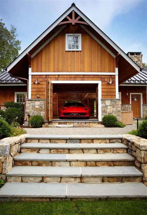 luxury home garage  car elevator  connecticut