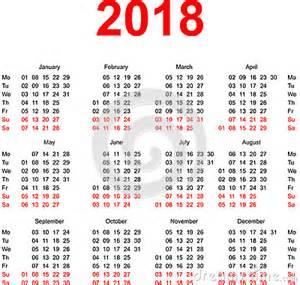 Kalender För 2018 Kalender 2016 Veckor Calendar Template 2016