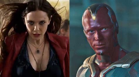 film seri avenger vision jatuh cinta pada scarlet witch di captain america