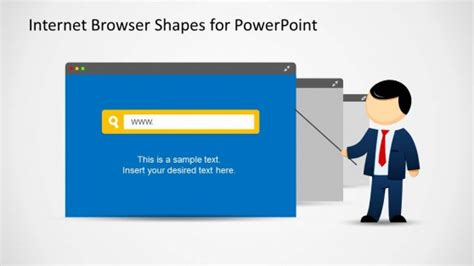 browse for themes powerpoint 2007 web browser clipart template for powerpoint slidemodel