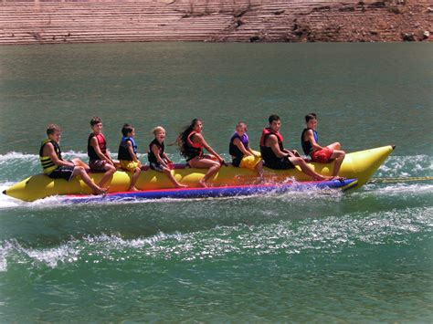 towable tubes for boating island hopper banana boat tube towable 8 person capacity