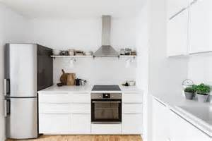 All White Kitchen Designs Serenely Scandinavian Light Filled Renovation Of Lisbon Apartment