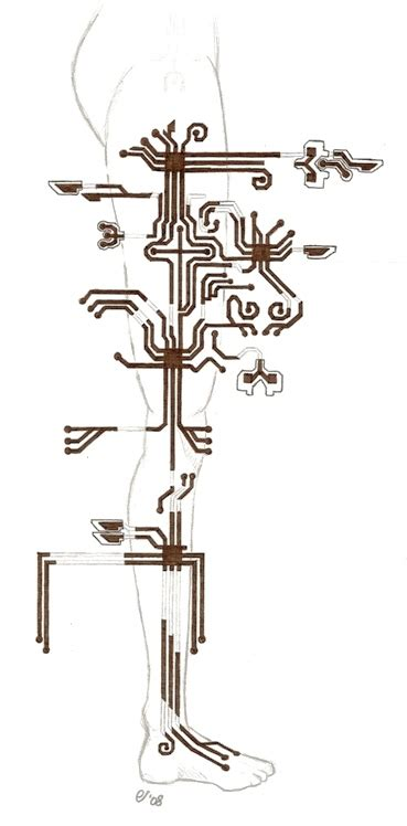 circuit tattoo design circuit by lushind on deviantart