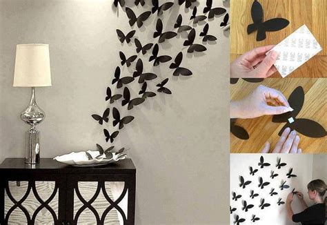 home wall decorations butterflies wall decor home design garden