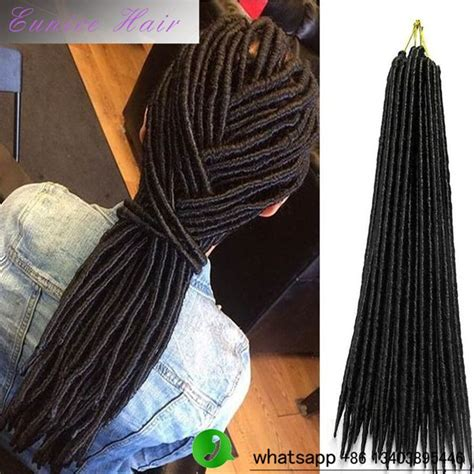 how to pack dreads in styles 2 packs faux locs crochet hair extensions synthetic