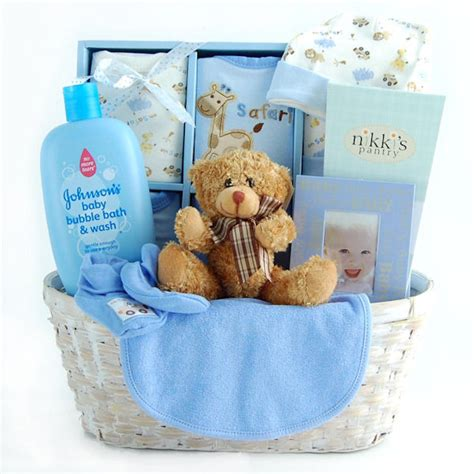 gifts for boy baby shower new arrival baby gift basket for boy baby gift set baby