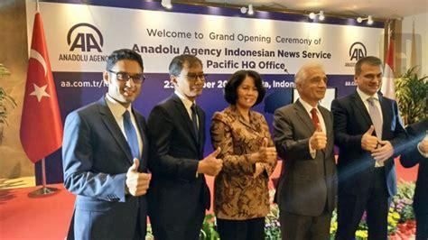 Fadhil Agency Nubuwat Perang Akhir Zaman anadolu agency resmikan layanan berita bahasa indonesia hidayatullah