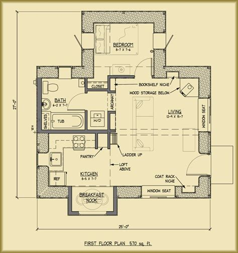 Straw Bale House Floor Plans | applegate straw bale cottage plans strawbale com